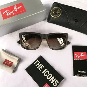 Brand New Authentic Ray Ban Justin polorized